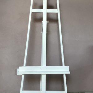 Staffelei – Groß – Weiß