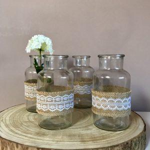 Vase Glas – Dekoaufbau