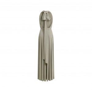 Multi Wrap Dress – Wickelkleid – Brautjungfern Kleid (Oliv)