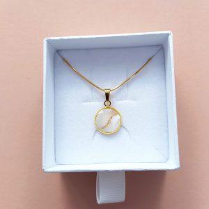 Kette Braut – gold – Brautschmuck – Halskette – Schmuck