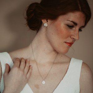 Kette Braut – silber – Brautschmuck – Halskette – Schmuck