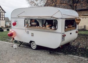 Mobile Bar im Vintage-Flair