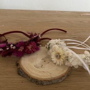Armband Trockenblumen Schmuck Boho